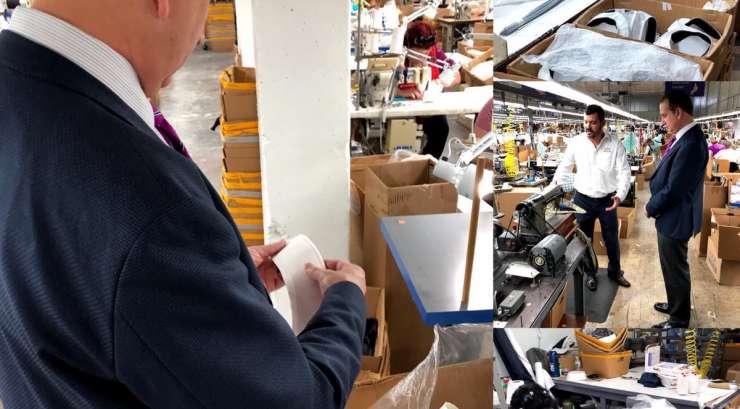 Florida Congressman Mario Díaz-Balart Visits Bernard Cap