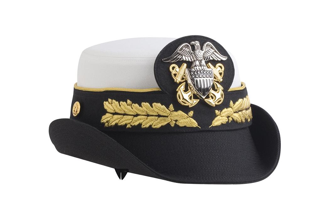 Navy Admiral Bucket Hat Women S Bernard Cap Genuine